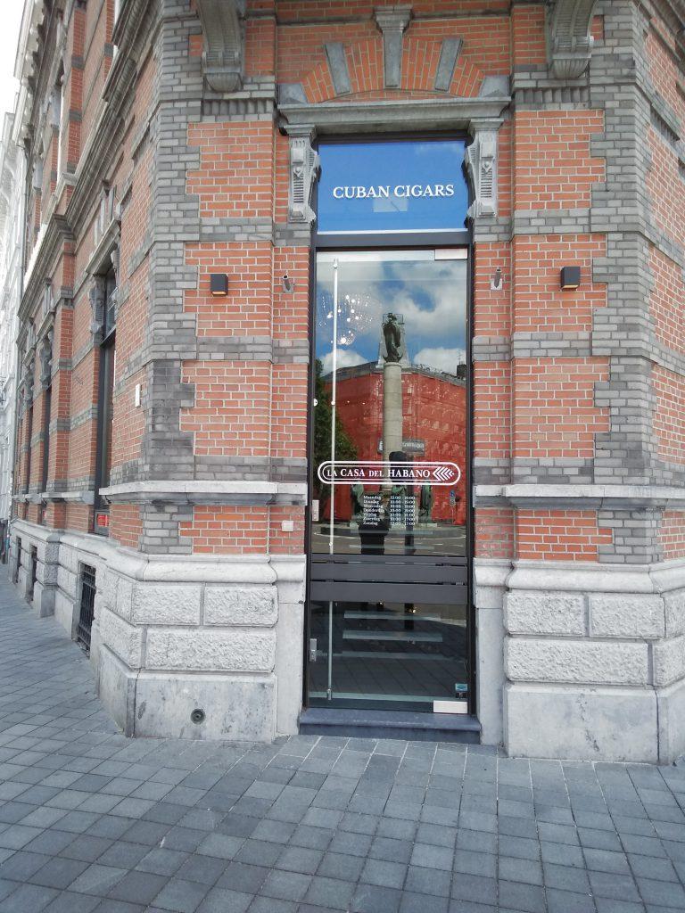 Raambelettering Maastricht